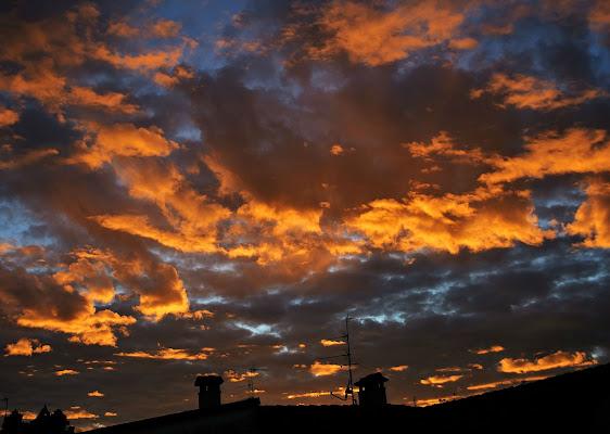 orange clouds di Daimon