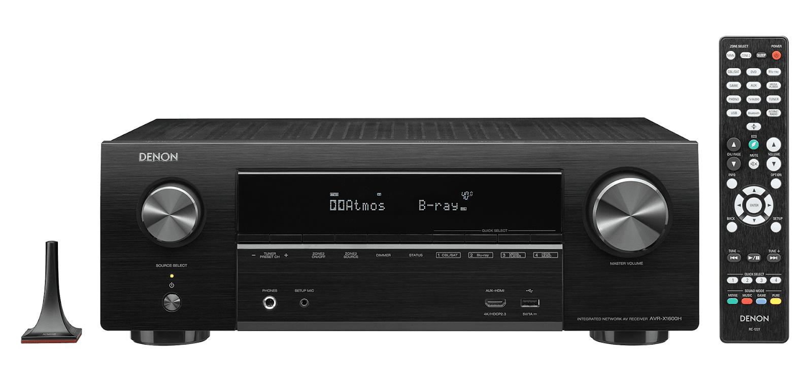 Amply Denon X1600H + Bộ Loa Polk Audio A7 rất sang trọng, âm thanh hay - 2