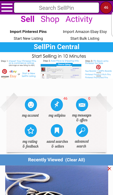 SellPin: Social Media Selling- screenshot