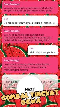 Download Kumpulan Chat Lucu Baper Sedih Gombal Kode Keras Apk Latest