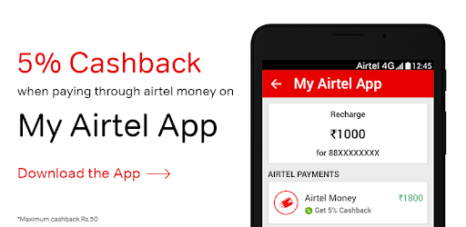 My Airtel: Recharge, Pay Bills app (apk) free download for Android/PC/Windows screenshot