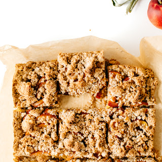 Nectarine Breakfast Bars.