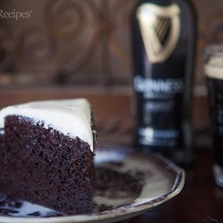 Chocolate Guinness Cake.