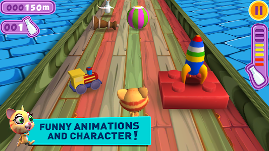 Racing Cat Runner: Speed Jam screenshot 4