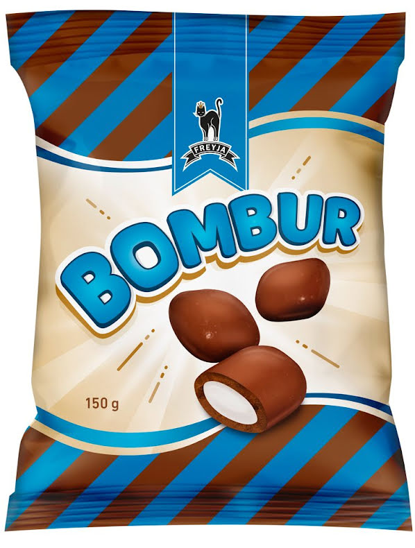 Bombur Vanilla - Kola med vanilj & mjölkchoklad - Freyja