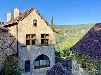maison à Saint-Cirq-Lapopie (46)