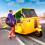 New Tuk Tuk Auto Rickshaw – Modern Driving Games icon