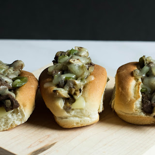 Mini Philly Cheesesteak Sandwiches
