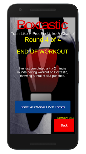 Boxtastic: Boxing Training Workouts (HIIT Coach) 5.02 screenshots 6