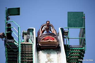 Photo: (Year 3) Day 25 - Rog and Edward on the Log Flume #3
