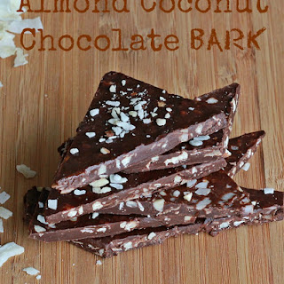 Almond Coconut Chocolate Bark