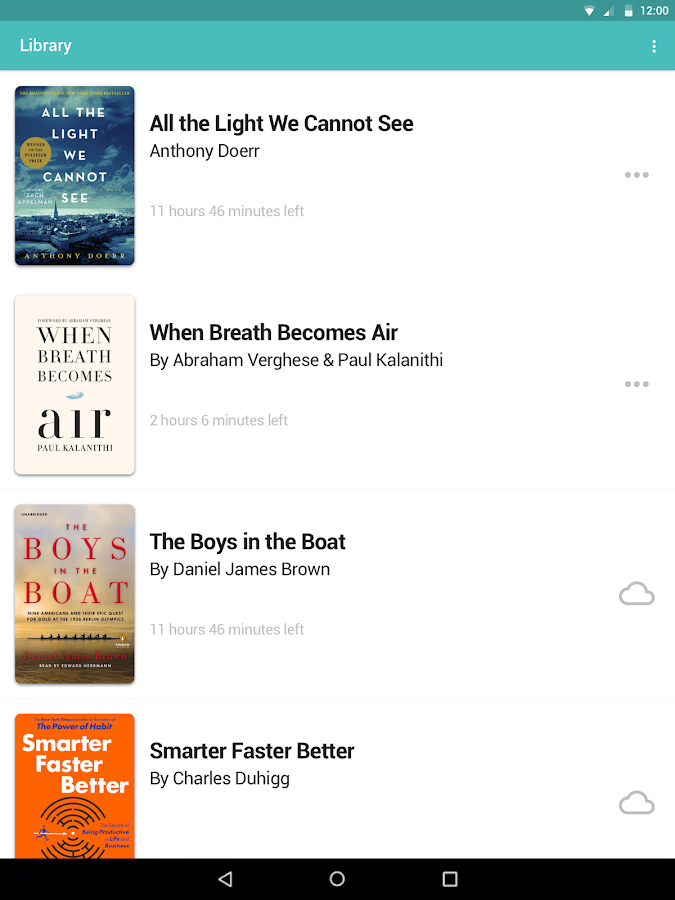 Audiobooks from Libro.fm – screenshot