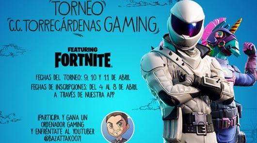 El Centro Torrecárdenas organiza un gran torneo de Fornite