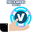 Free V Bucks Counter & VBUCKS Roulette 2020 icon