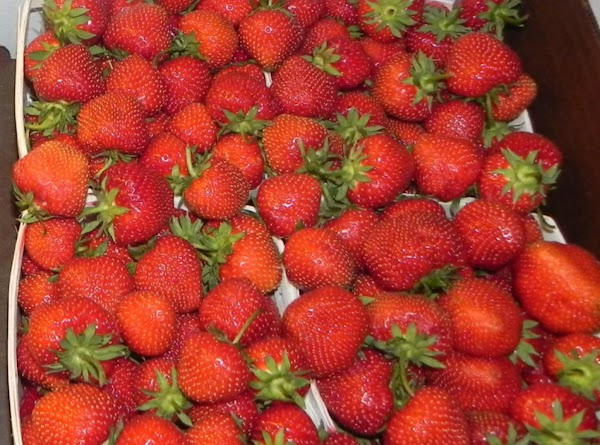Have at least 2 pints of fresh strawberries. Take them out of packaging and...