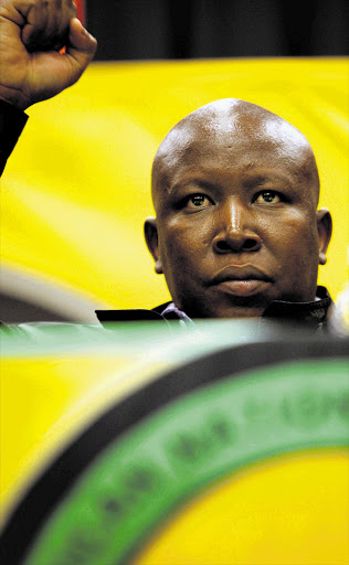 ANC Youth League president Julius Malema. File photo. Picture: LAUREN MULLIGAN