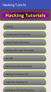 Hacking Tutorials Apk Download For Android 1
