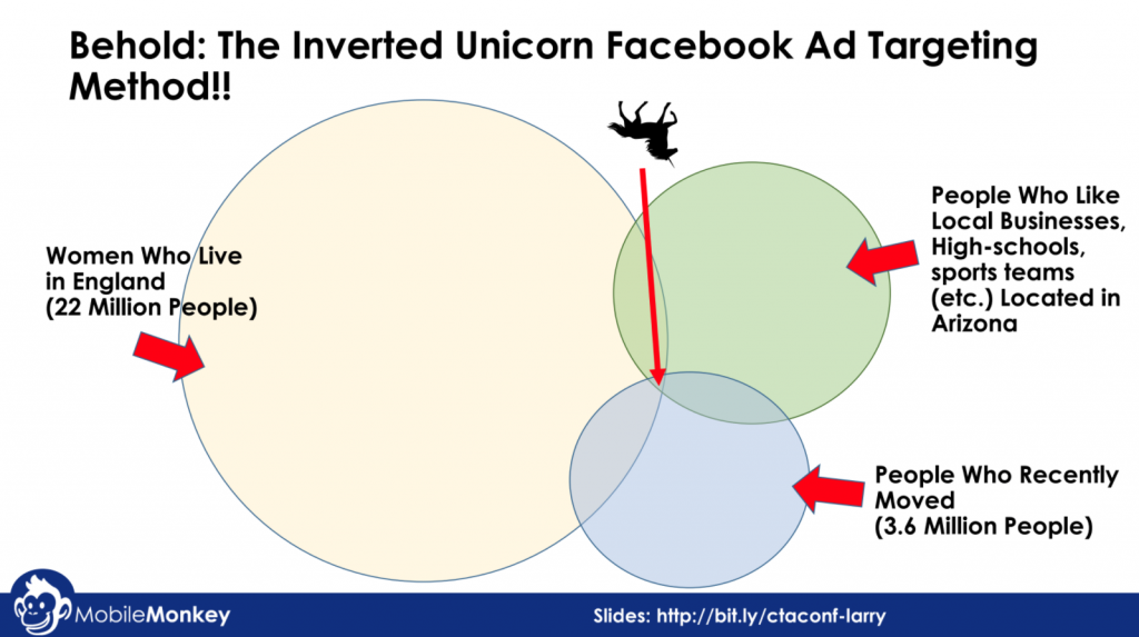 Inverted Unicorn Facebook Ad Targeting Method