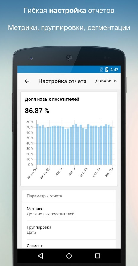 Ya.Analytics - Яндекс Метрика- screenshot