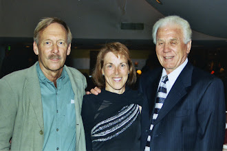 Photo: John Pagliano, Jacqueline, Laszlo Tabori 2004 SCA-USATF Lifetime Achievement Awards Ceremony