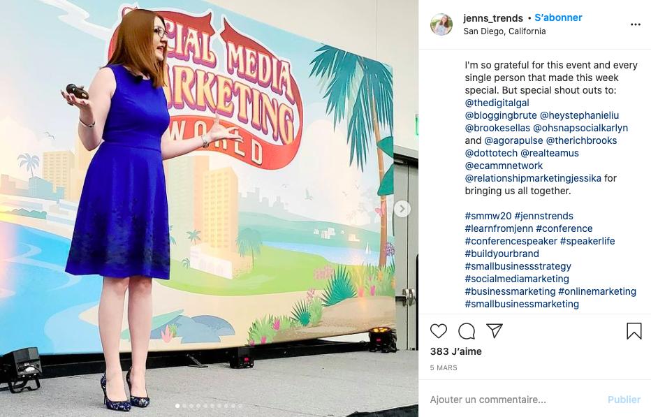 Gagner argent Instagram Jenns Trends
