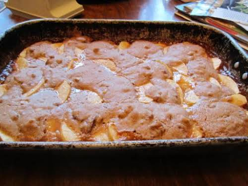 "Click Here for Recipe: Caramel Apple Pecan Bars ""I made these TWICE..."