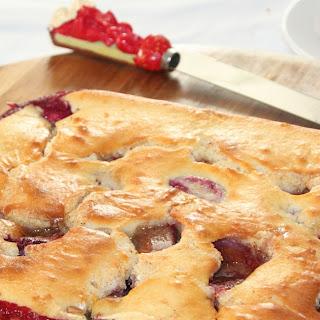 Placek z Sliwkami – Polish Plum Cake