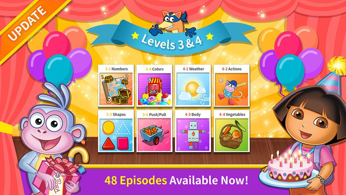 Dora's Great Big World - Top App for Kids by Nickelodeon