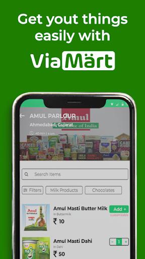 ViaMart- Lebensmittel, Lebensmittel, Schreibwaren und weitere Screenshots 2