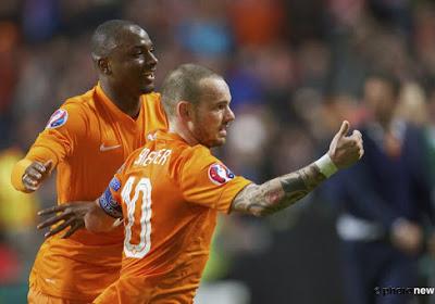 """Sneijder: """"La Belgique fait partie des favoris à l'Euro"""""""