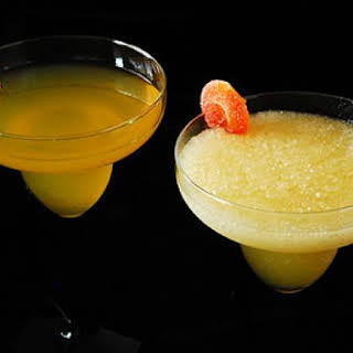 Peach Martini Two Ways.