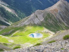 Photo: terug naar lac de Souliers