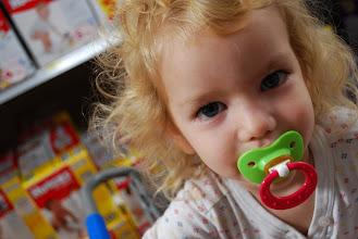 Photo: She's still a happy shopper!
