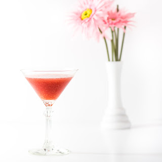 Frozen Raspberry Martini.