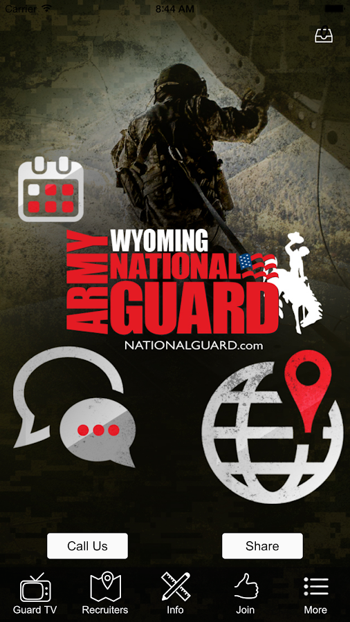 Wyoming Army National Guard- screenshot