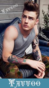 Tetování Foto Editor - náhled