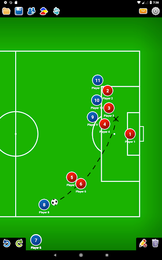 Coach Tactic Board: Soccer 1.2.2 screenshots 7