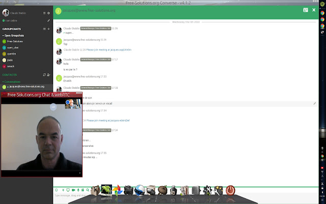 Free-Solutions Chat & webRTC Videoconf
