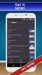 📻 Mozambique Radio FM AM Live screenshot 0