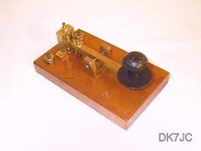 """Photo: Zuwendung v. DK8EY  ähnlich Large Wells Fargo Key 1881>  UK  """"G""""  #197"""