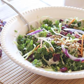Copycat Kale and Broccoli Slaw Salad