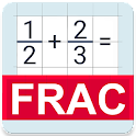 Fraction calculator Free icon