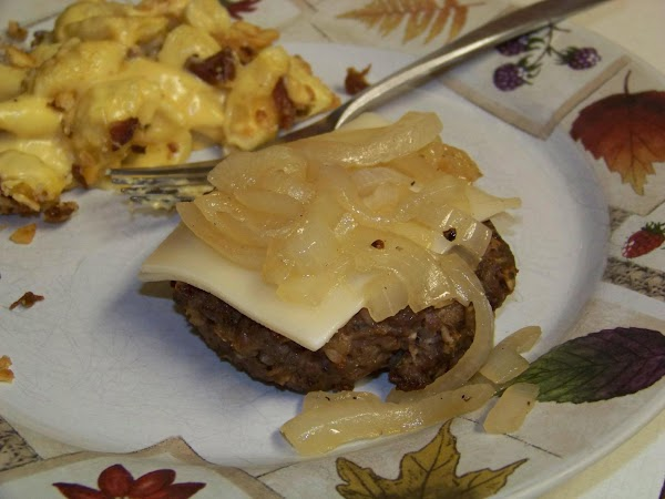 Bison Burgers Recipe