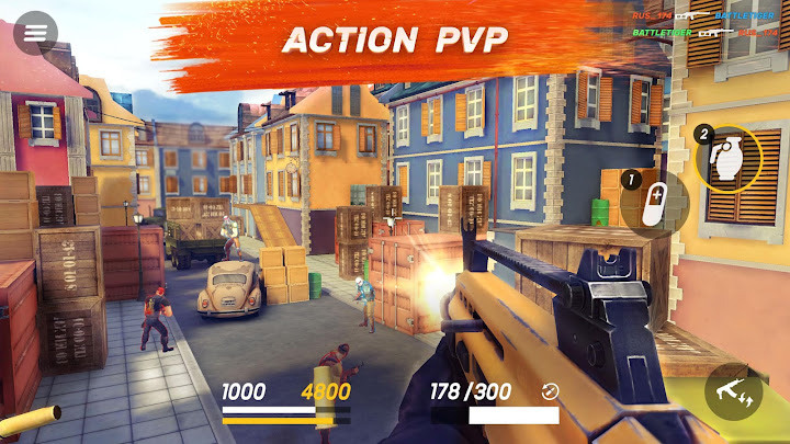 Guns of Boom - Online Shooter Android App Screenshot