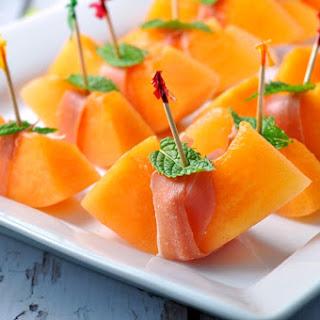 Prosciutto with Melon and Mint Recipe
