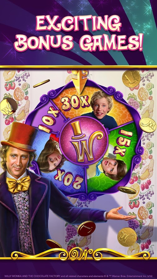 Willy Wonka World of Wonka Slots - Play for Free Now