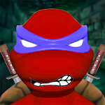 Hardcore Ninja Champ Turtle Warrior Icon