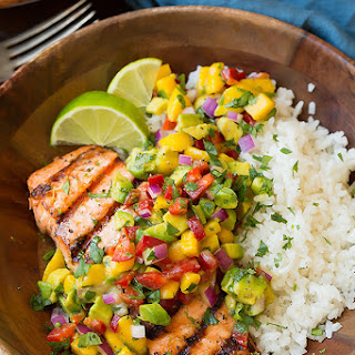 Grilled Salmon Rice Recipes