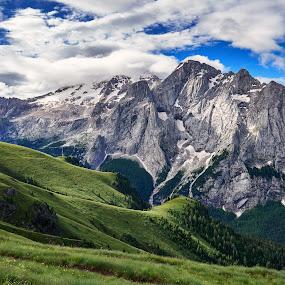 Marmolada by Igor Gruber - Landscapes Mountains & Hills