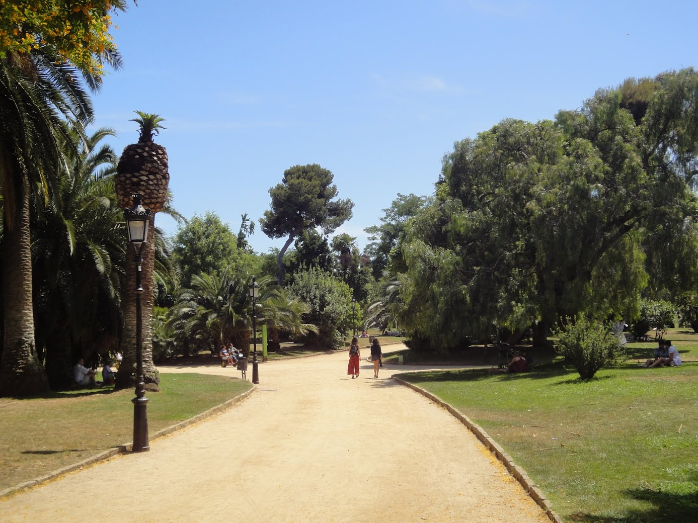 Parc Ciutadella à Barcelone
